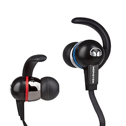 Наушники Monster iSport Immersion with ControlTalk Black