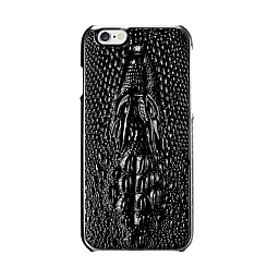 Чехол для iPhone 7 Dixico Crocodile Leather Black