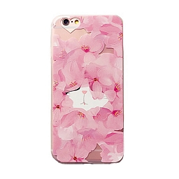 Чехол для iPhone 7 Dixico Flower Cat B