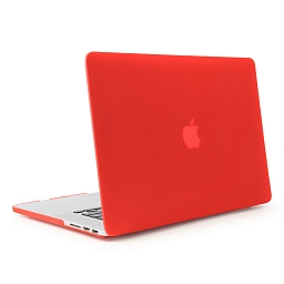 Чехол для MacBook Pro 15 Taikesen Hard Case Red