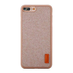 Чехол для iPhone 7 Plus Baseus Sky Grain Beige