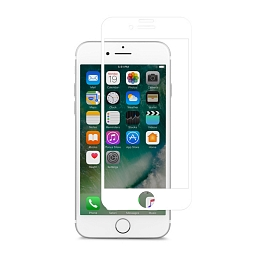 Стекло защитное для iPhone 7 Plus Moshi IonGlass White (Glossy)