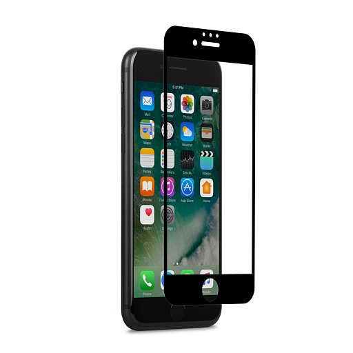 Пленка защитная для iPhone 7 Plus Moshi iVisor AG Black (Matte)
