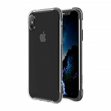 Чехол для iPhone X Hoco Armor Series & Tempered Glass Set Clear