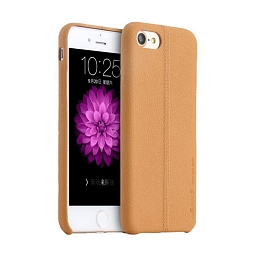 Чехол для iPhone 7 Plus Usams Joe Light Brown