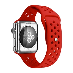 Ремешок для Apple Watch 42 mm Dixico Red Nike Series