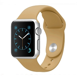 Ремешок для Apple Watch 42 mm Dixico Beige Sport Band