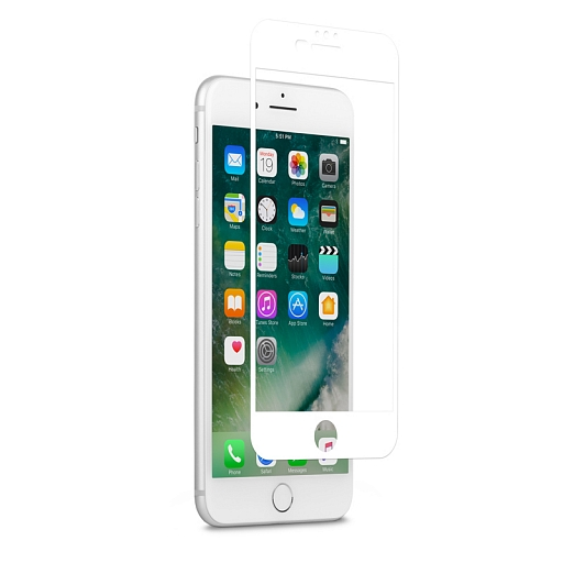 Пленка защитная для iPhone 7 Plus Moshi iVisor AG White (Matte)