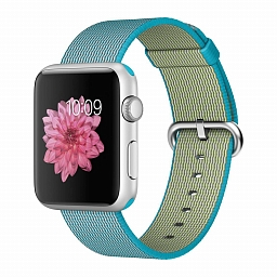 Браслет для Apple Watch 38/40mm COTEetCI W11 Nylon Strap Blue