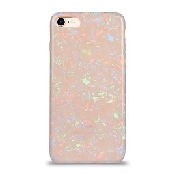 Чехол для iPhone 7/8 Broken Glitter Multicolor