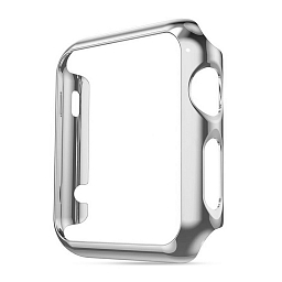 Чехол для Apple Watch Series 1/2/3 42mm COTEetCI SmartWatch PC Case Silver