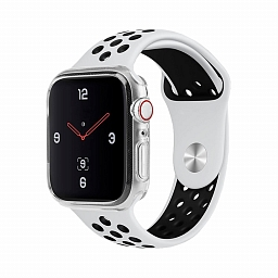 Чехол для Apple Watch Series 4 - 44 mm Uniq Glase Transparent