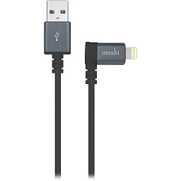 Кабель Moshi Lightning/USB with 90-degree connector Black (1.5m)
