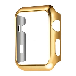 Чехол для Apple Watch Series 1/2/3 38mm COTEetCI SmartWatch PC Case Gold