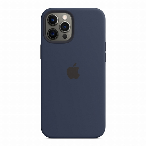 Чехол для iPhone 12 Pro Max Apple Silicone Case with MagSafe - Deep Navy