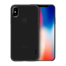 Чехол для iPhone XS Max Hoco Thin Series PP Case Black