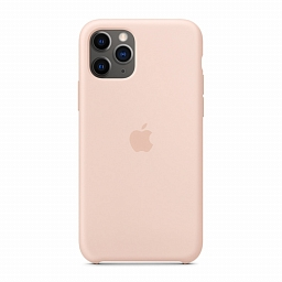 Чехол для iPhone 11 Pro Dixico Silicone Case Pink Sand