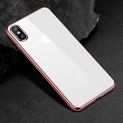 Чехол для iPhone X Fant Rose Gold