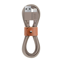 Кабель Native Union Belt Cable Kevlar Lightning Taupe (1,2m)