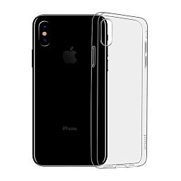 Чехол для iPhone XS Max Hoco Light series TPU Black