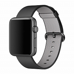 Браслет для Apple Watch 42/44mm COTEetCI W11 Nylon Strap Black