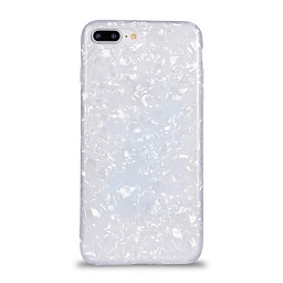 Чехол для iPhone 7 Plus/8 Plus Broken Glitter White