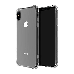 Чехол для iPhone XS Max Hoco Armor Series Shatterproof Case Clear
