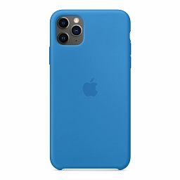 Чехол для iPhone 11 Pro Max Apple Silicone Case - Surf Blue