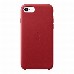 Чехол для iPhone SE/8/7 Apple Leather Case - (PRODUCT)RED