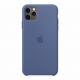 Чехол для iPhone 11 Pro Max Apple Silicone Case - Linen Blue