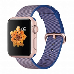 Браслет для Apple Watch 42/44mm COTEetCI W11 Nylon Strap Purple