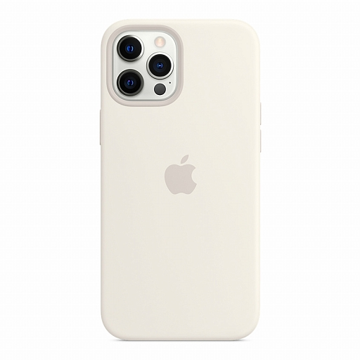 Чехол для iPhone 12 Pro Max Apple Silicone Case with MagSafe - White
