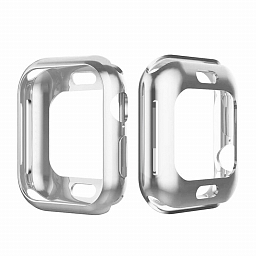 Чехол для Apple Watch Series 4 44mm Dixico PC Case Silver