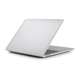 "Чехол для MacBook Pro 15"" (touch bar) Dixico Case Matte White"