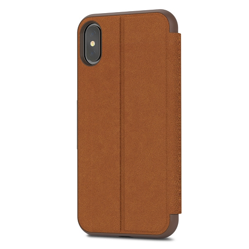 Чехол для iPhone X/XS Moshi SenseCover Caramel Brown