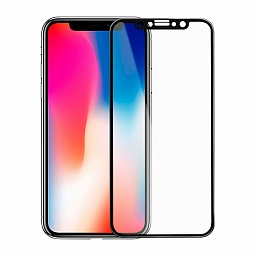 Защитное стекло для iPhone X/XS/11 Pro Mocoll 3D Full Cover Simple Black