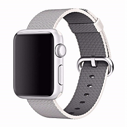 Браслет для Apple Watch 38/40mm COTEetCI W11 Nylon Strap Gray