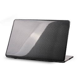 "Чехол для MacBook Pro 15"" (touch bar) Dixico Carbon Fibre Black"
