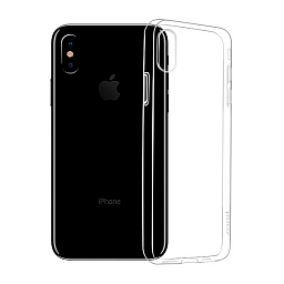 Чехол для iPhone XS Max Hoco Light series TPU Clear